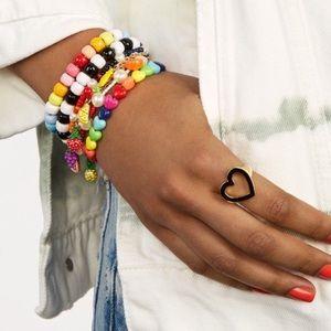 NWOT BaubleBar Bali Bracelet in RAINBOW